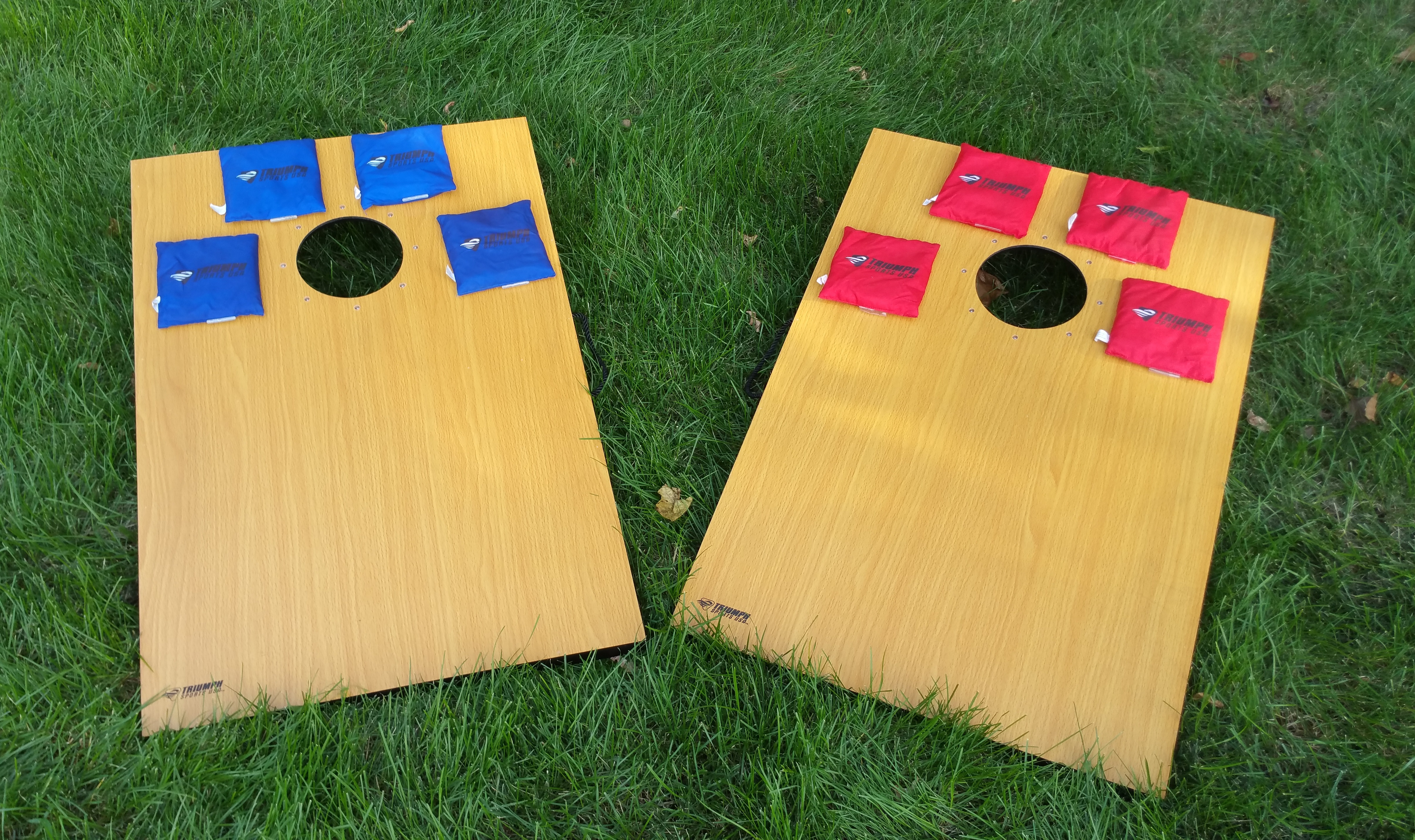 Led Tournament Bean Bag Cornhole Game Set